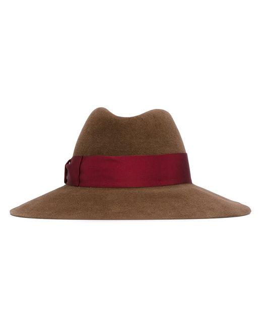 Borsalino | Женская Коричневая Фетровая Шляпа