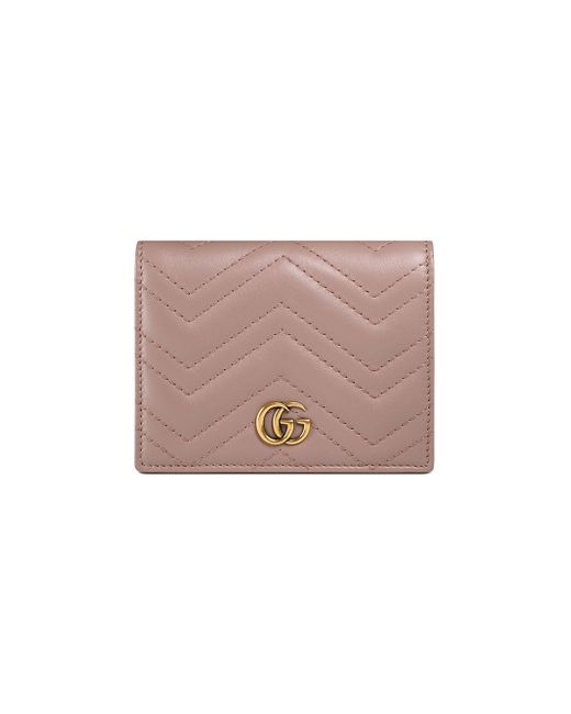 GG Marmont card case - Nude & Neutrals Gucci 1Ng7cJqFn6