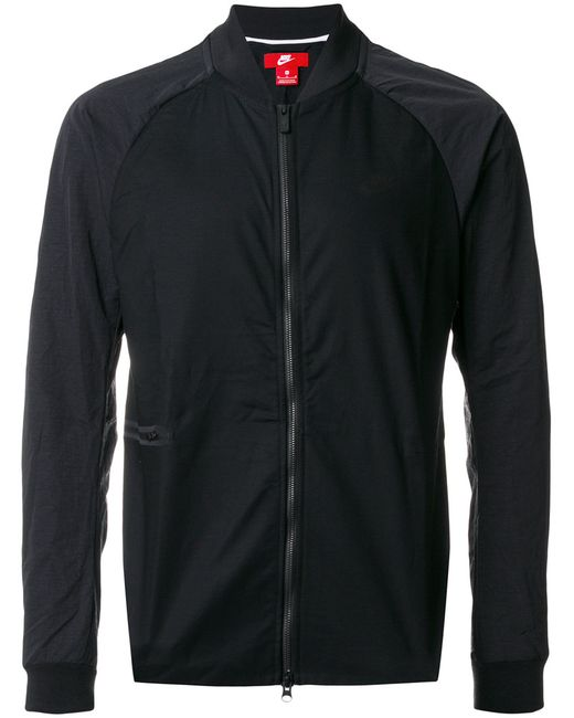Nike | Женское Чёрный Zipped Lightweight Jacket