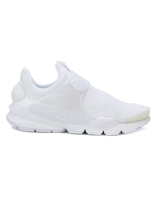 Nike | Мужские Белые Кроссовки Sock Dart