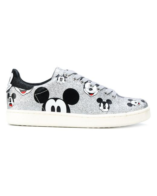 MOA MASTER OF ARTS | Серебристый Mickey Mouse Sneakers Women