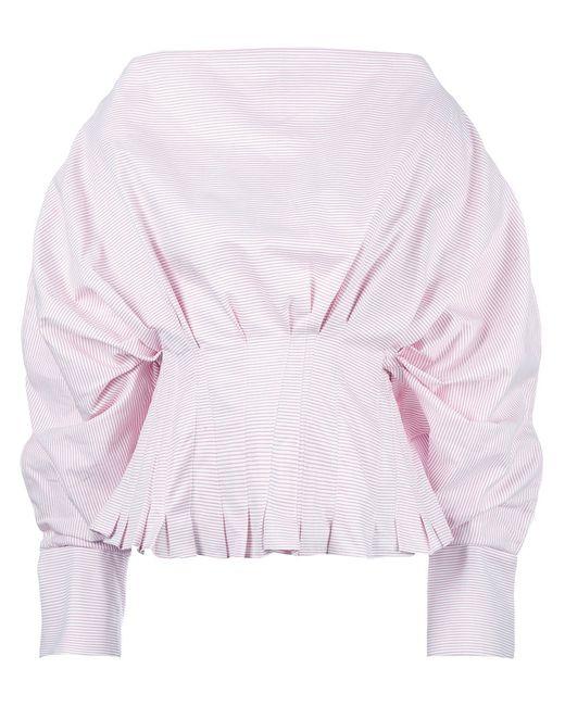 JACQUEMUS | Женское Красный Lune Top Womens Size 34 Cotton