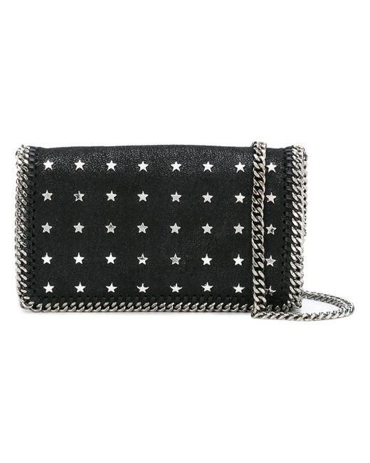 Stella Mccartney | Женское Чёрный Star-Studded Falabella Shoulder Bag