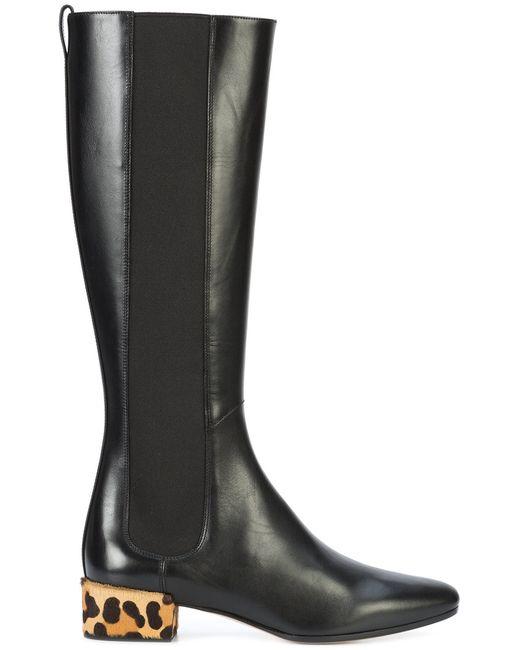 FRANCESCO RUSSO | Чёрный Knee-High Boots Women
