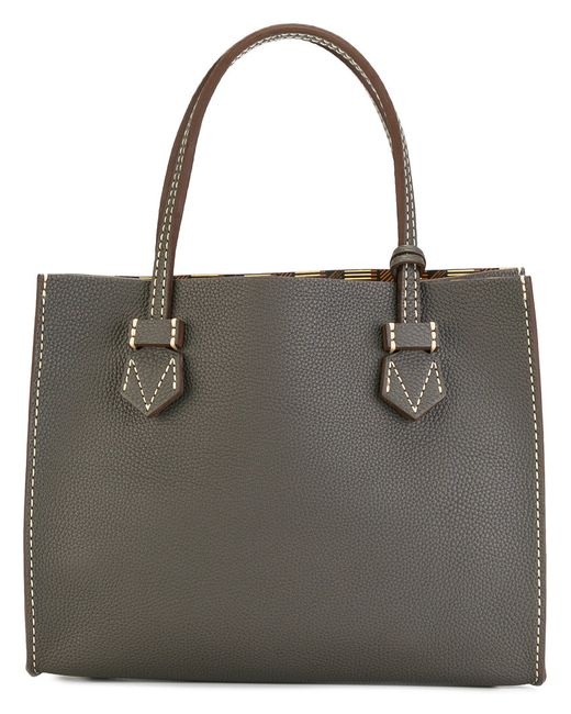 Moreau | Женское Серый Small Tote Bag Calf Leather/Goat Skin