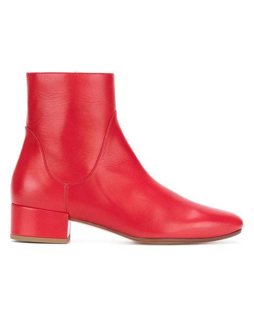 FRANCESCO RUSSO | Красный Low Heel Boots Women