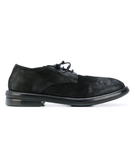 Marsell | Мужские Чёрные Туфли Дерби