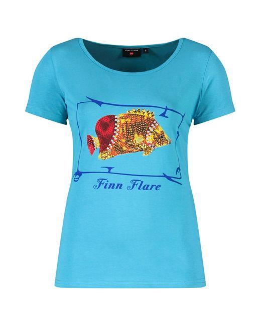 Finn Flare | Женская Aquamarine Фуфайка Женская Finn-Flare