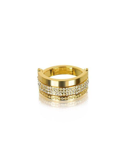 VITA FEDE | Женское Золотой Bardot Золотистое Кольцо С Кристаллами