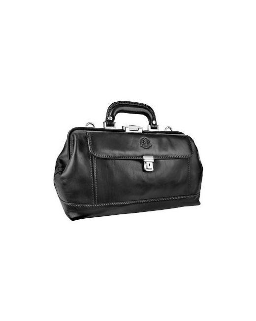 Chiarugi | Коричневый Genuine Italian Leather Doctor Bag