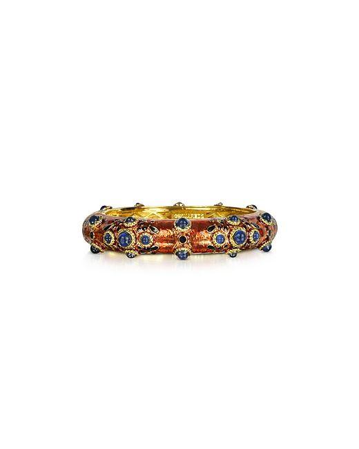 Dsquared2   Charlotte Brass And Enamel Bracelet
