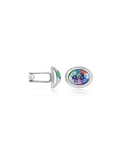 Forzieri | Millefiori Murano Glass Oval Cuff Links