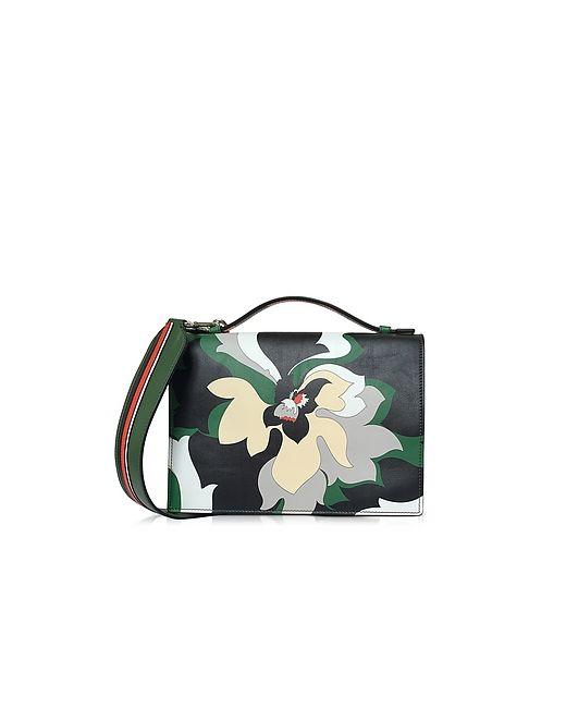 Emilio Pucci   Многоцветный Leather Shoulder Bag
