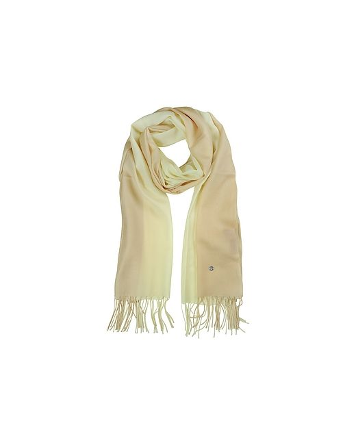 Mila Schon | Бежевый Gradient /Cream Wool And Cashmere Stole