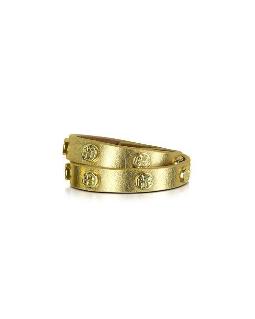 Tory Burch | Double Wrap Stud Logo Bracelet