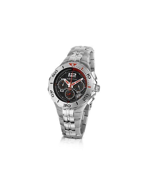 Zoppini   Серебристый Stainless Steel Bracelet Chrono Watch