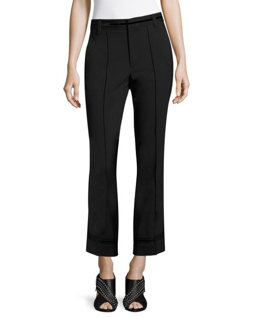 Marc Jacobs | Bowie Wool Cropped Pant