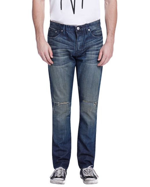 Earnest Sewn | Bryant Cotton Slouchy Slim Jeans