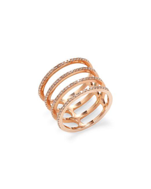 EF COLLECTION | Multi Spiral Diamond Ring