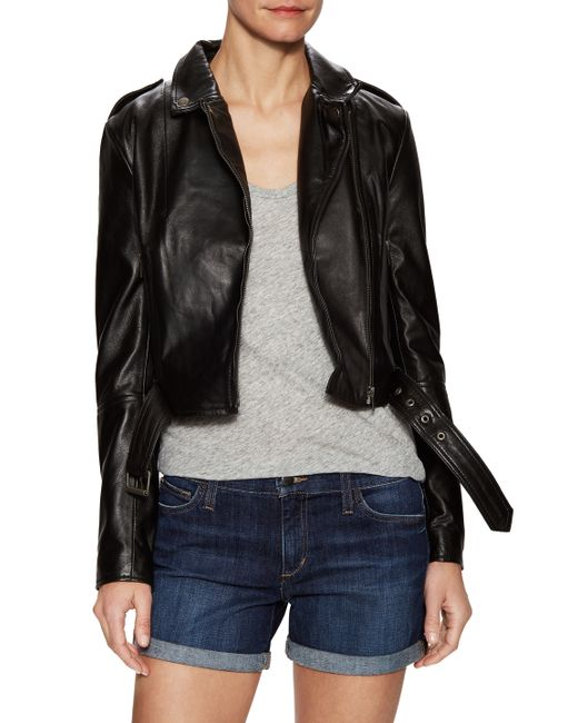 Muubaa | Sembri Leather Biker Jacket