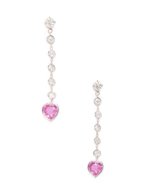 Estate Fine Jewelry | Золотой Estate 18k Topaz 0.80 Total Ct. Diamond