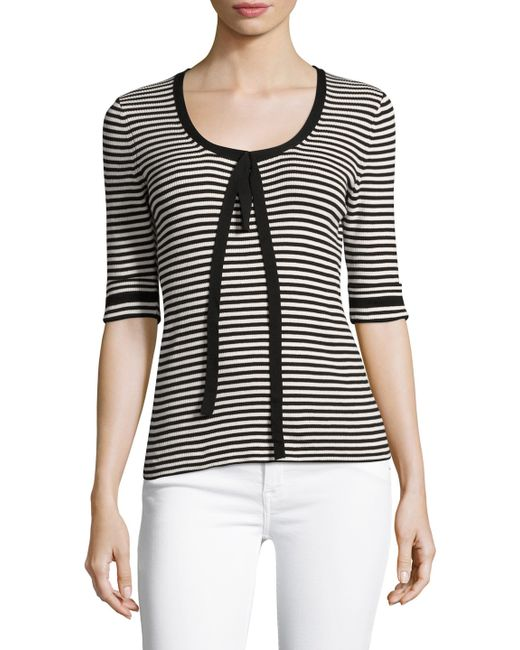 Marc Jacobs   Cotton Striped Sweater