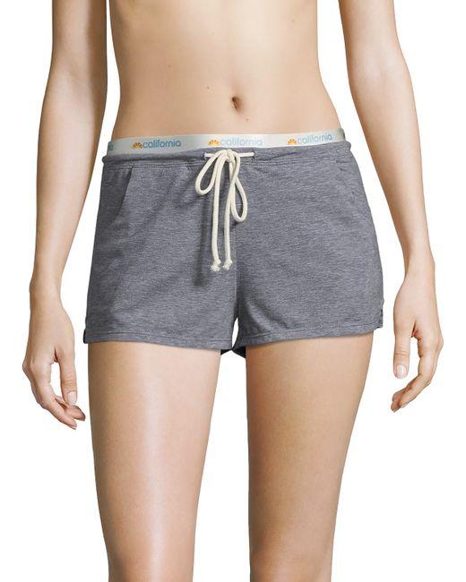 C & C California | Elasticized Split Shorts