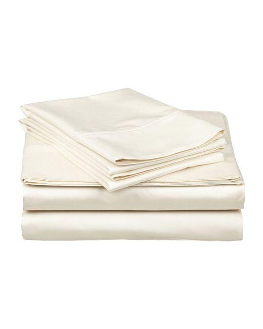 Affinity Linens   Luxurious Sateen Deep Pocket Sheet Set 4