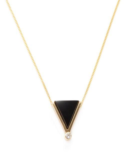 Estate Fine Jewelry | Золотой Estate 14k Onyx 0.05 Total Ct. Diamond