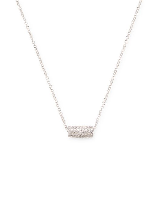EF COLLECTION | Cylinder Diamond Necklace