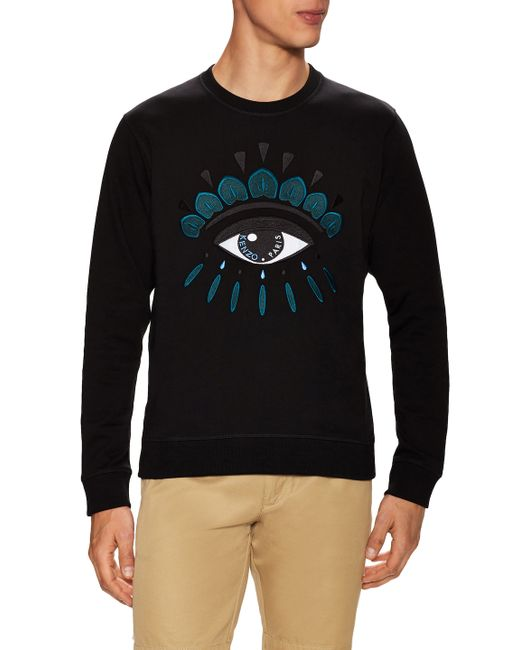 Kenzo | Красный Embroidered Eye Crewneck Sweatshirt