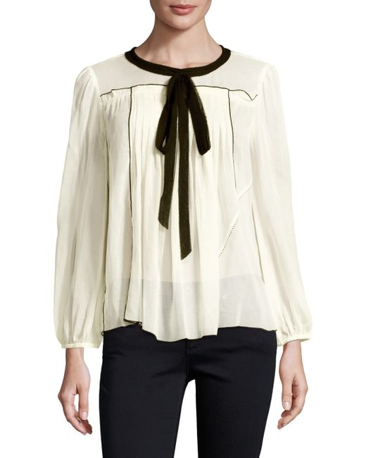 Marc Jacobs | Cotton Pleated Blouse