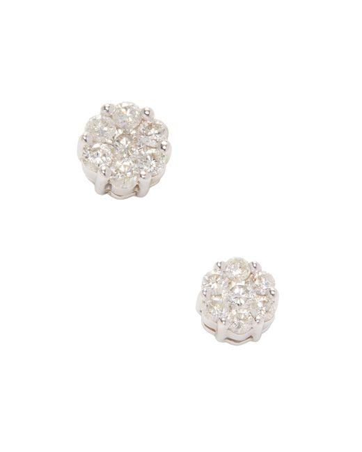 Estate Fine Jewelry | Золотой Estate 14k 0.75 Total Ct. Diamond Cluster