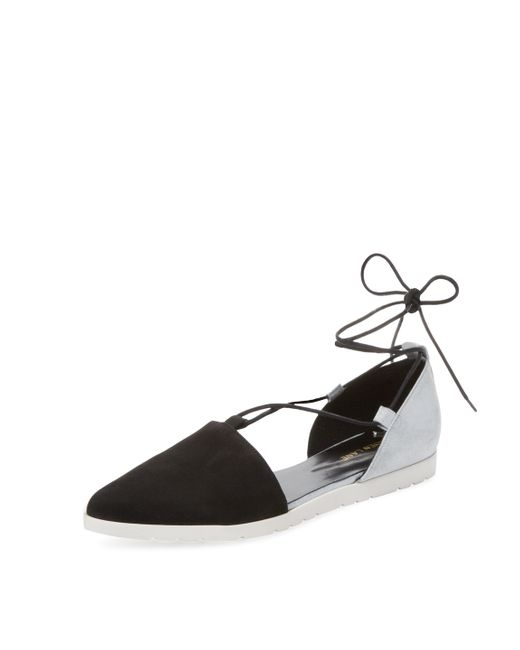 Maiden Lane | Sporty Lace-Up Flat