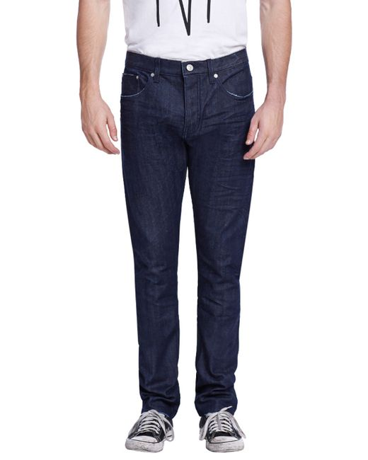 Earnest Sewn | Bryant Cotton Slouchy Slim Jeans