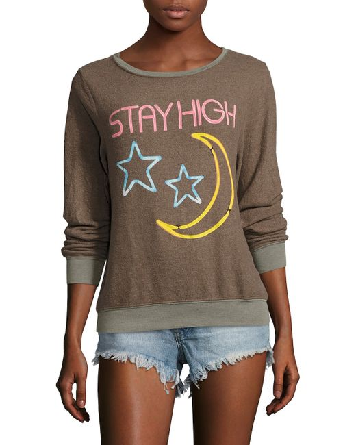 Wildfox | Stay High Bbj Sweatshirt
