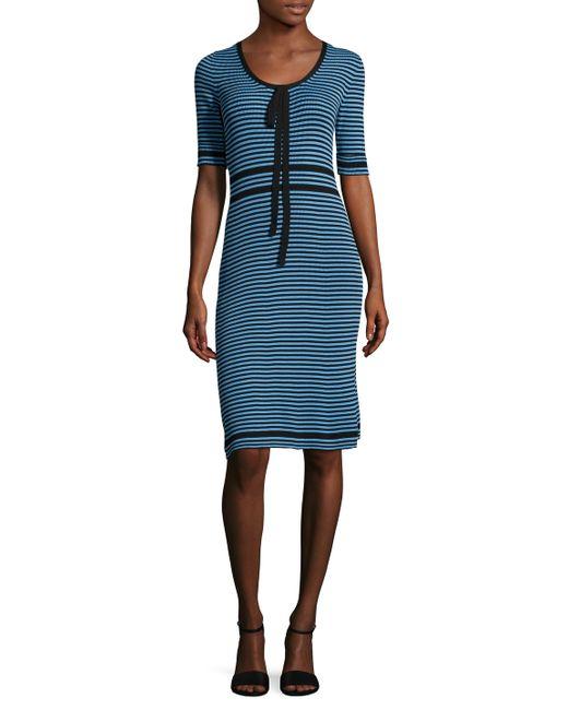 Marc Jacobs | Cotton Striped Sheath Dress
