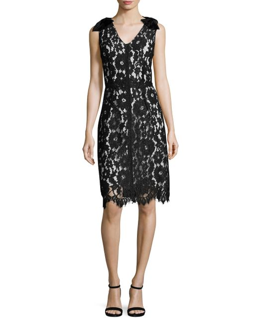 Marc Jacobs | Lace Bowed Flare Dress