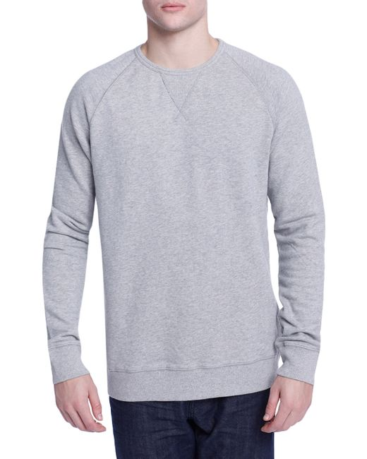 Earnest Sewn | Solid Grip Cotton Sweatshirt