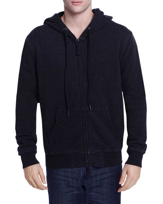 Earnest Sewn | Красный Jared Thermal Lined Cotton Hoodie