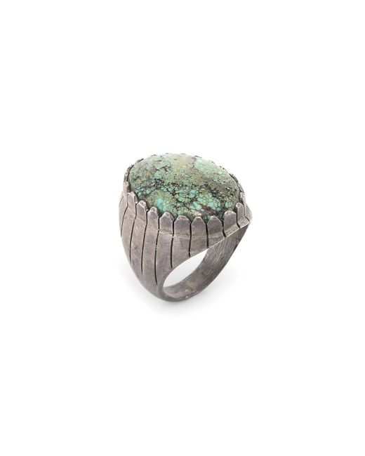Estate Fine Jewelry | Vintage Large Turquoise Ring