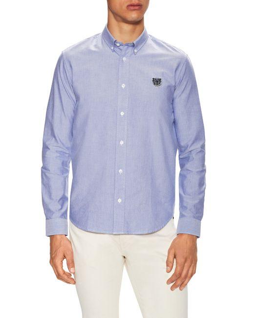 Kenzo | Logo Button-Down Oxford Sportshirt