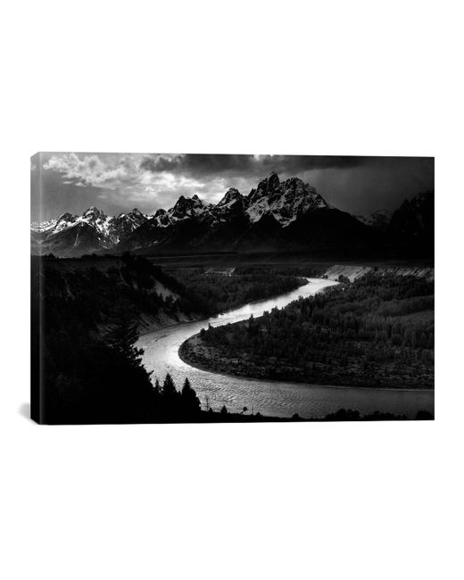 iCanvas   The Tetons Snake River By Ansel Adams