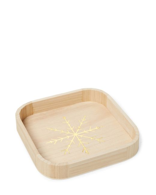 Gilt Home Collection   Square Tray