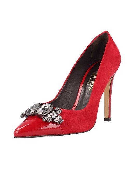 El Dantes | Женские Красные Туфли