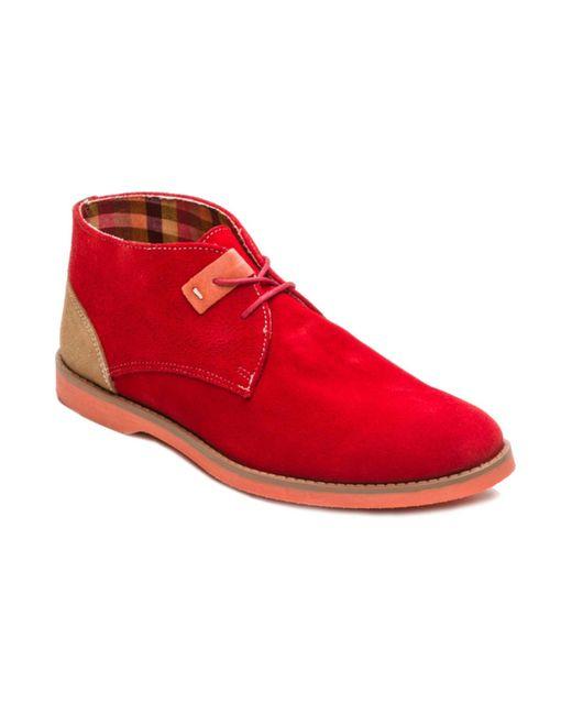 ORTIZ REED | Мужские Красные Ботинки
