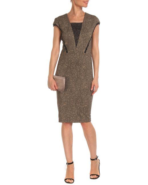 VITO Exclusive   Женское Золотое Платье