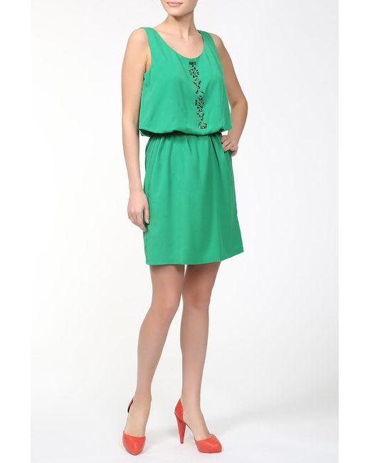 Alba Conde | Женское Зелёное Платье