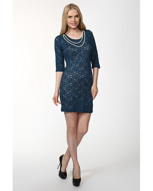 Deja-Vu   Женское Голубое Платье