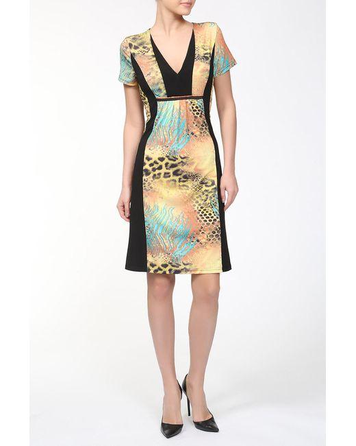 M.X.O | Женское Многоцветное Платье